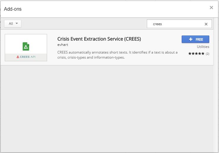 Google Sheets Add-on Installation.